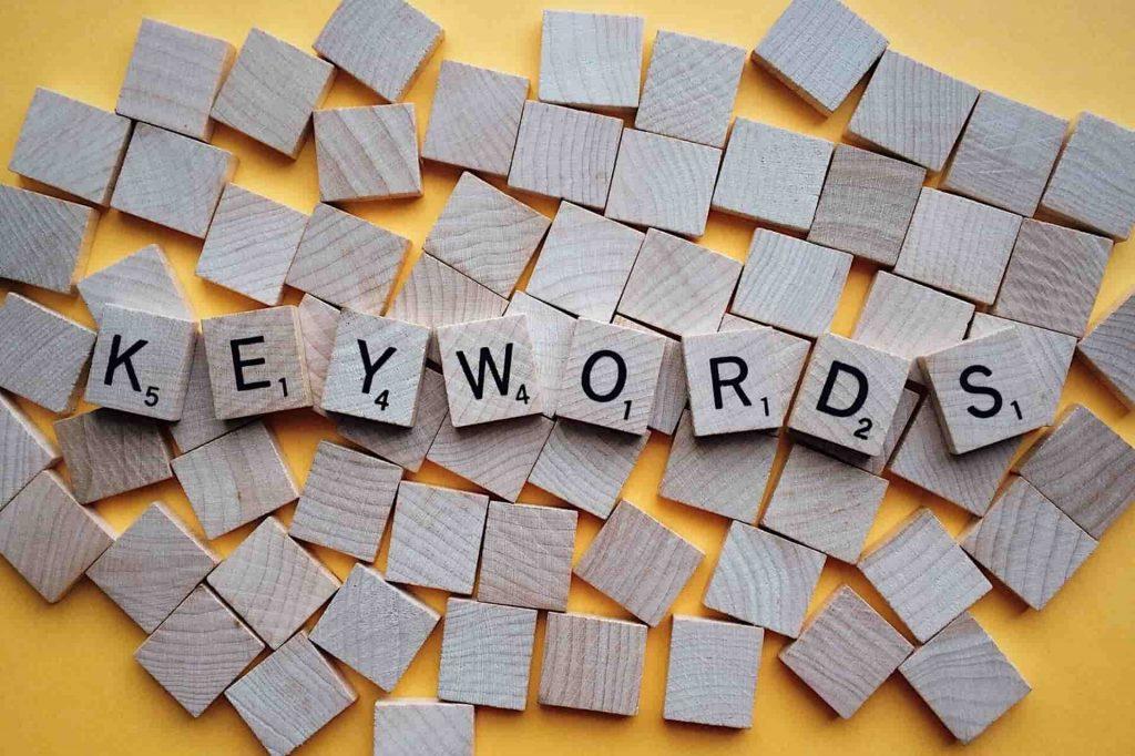 cosa sono le parole chiave keywords seo